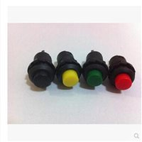 Cheap New 5Pcs 12mm Locking Momentary ON OFF Push button Switch Car Boat Switch