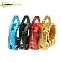 Wholesale Road Bike MTB Seatpost mm mm Seat Post Clamp Clamps Quick Release QR Colors
