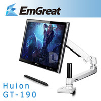 art mounting board - Huion GT quot Professional LCD Monitor Art Graphic Drawing Pad Digital Tablet Board USB Pen Steel Foldable Desk Mount Stand