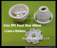 abs pmma - CREE XPE Royal Blue nm sets PMMA Lens amp ABS Holders Assembly