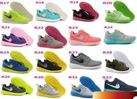Wholesale 2016 Roshe Run Shoes Men and Women Running Shoes Fashion Vintage Athletic Casual Sports Shoes Boys Mesh Free Run Sneakers