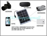 Wholesale New arrival solar battery panel with USB port for mobile charging Solar mobile cell charger V W solar panel module order lt no track