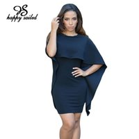 angles club - Black Red White Winging Angle Cape new spring summer Backless V short batwing sleeve sexy women fashion mini Dresses