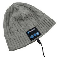 Wholesale 2014 winter knitting hat with bluetooth