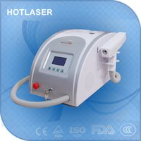 Wholesale Pigment Removal Tattoo Removal Feature and Yes Q Switch portable nd yag laser tattoo removal device