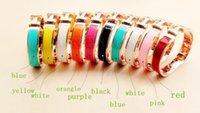 Wholesale New women Fashion bracelet k rose gold Titanium steel Bangle Bracelets Ladies gift Jewelry