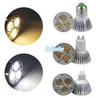 Wholesale Led bulds CREE Led Lights W W W Dimmable E27 GU10 MR16 E14 B22 GU5 B22 Led Spotlight led bulb downlight lighting