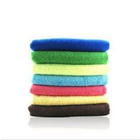 Wholesale Car car supplies car wash towel ultrafine fiber nano thickening cleaning absorbent towel