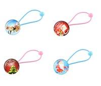design plastic comb - Hot girls Christmas hairbands hair bands christmas gemstone many designs christmas hair accessories
