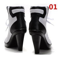 Wholesale Fastshipping Classics High Heels Ankle Boot Sport High Heels Mixed Color Black and White Women Basketball Shoes Correcting Motile Shoes