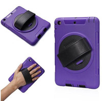 Wholesale flying round tablet pc cases for ipad mini air air2 PC TPU combo case