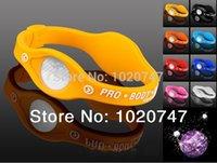 Precio de Venda de la energía del silicón del balance-Pulsera de silicona mayor-amarillo con las pulseras del holograma Bandas de energía Energy Balance Pulsera con el envío libre