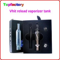 Replaceable Metal Yes Vhit Reload Vaporizer Tank dry herbs atomizer Vhit tank clearomizer M3 glass tank atomizer with metal drip tip wholesale ecigarette