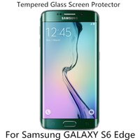 Wholesale For Samsung NOTE shield Screen Protector Film Tempered Glass For S6 S6 edge For Samsung S5 Note