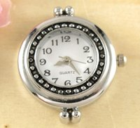 watch face for beading - New Arrive Fashionable Quartz Silver Tone Watch Faces For Beading w06