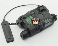 airsoft battery box - Original FMA Tactical Military Airsoft AN PEQ Battery Box Laser Red Dot Laser with White LED Flashlight and IR Lens Tan order lt no track