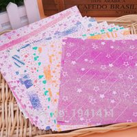 Wholesale Deal Lovely DIY color pearl paper origami paper cutting paper children s flashing paper handmade paper art craft CM