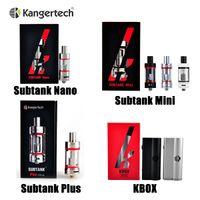 4.5ml kanger - Genuine Kanger Subtank Nano Subtank Mini Subtank Plus V2 atomizer Kangertech Subtank Clearomizers OCC coil tank KBOX W Box Mod