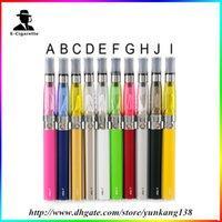 portable kit - Hot sellinge Go t Ce4 Starter Kits ml CE4 Atomizer mah mah mah Ego T Battery E Cigarette Portable Vaporizer Pen in stock0209035