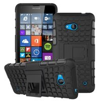 Wholesale 2 in KickStand Impact Rugged Heavy Duty TPU PC Hybrid Cover Case For Microsoft Nokia Lumia XL case
