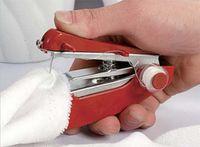 Wholesale 130pcs Mini Handy Clothes Fabric Sartorius Handheld Sewing Machine Mini pocket manual sewing machine