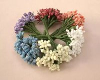 millinery - 144pcs Stamens Pistil Head Flower Candy box Millinery Floral Craft Decoration