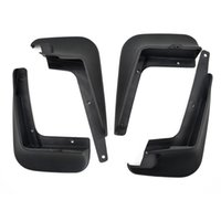 Wholesale 4 Set Car Styling Mudguard Splash Mud Guard PP Accessories For Toyota Corolla High Quality Black Car styling
