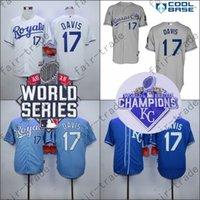 away baby - Wade Davis Jersey Home Away KC Baby blue Kansas City Royals Uniforms