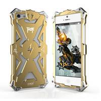 aviation designs - For iPhone s iPhone6 iPhone6s Luxurious callous Heroic THOR Metal Cover Original Design Aviation Aluminum Defender Phone Case