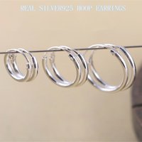 Wholesale REAL STERLING SILVER MINI SMALL HOOP EARRINGS FOR WOMEN BABY MEN DIAMETER MM MM MM PAIRS