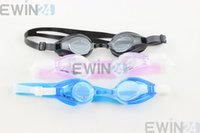 Wholesale Anti Fog UV Protect Swimming Silicone Googles Glasses Waterproof Brand new and good quality Health and safety