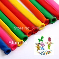 animal balloon twisting - Hot mixed color Magic Long Animal Tying Making Balloons twist Latex Balloon