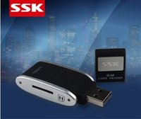 atm card reader - Hot sales Chinese new ATM chip memory card reader USB sim card GSM mobile phone card reader
