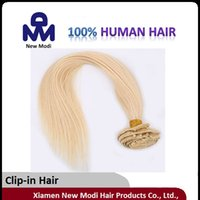 Wholesale 16 quot quot quot Clip In Hair Indian Remy Human Hair Clip In Hair lady Hair Extension