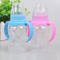 Wholesale Great Standard Caliber PP Baby Bottles With A Handle Straw Wholesales ml