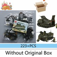 amphibious tanks - NEW Sluban B6300 Army Amphibious tanks DIY Model Building Blocks Bricks Toys Gift