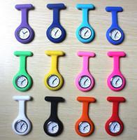 Wholesale New Silicone Nurse Watch Medical Nurse Watch Cute Patterns Fob Quartz Watch Doctor Watch pocket Watches Medical Fob Watch D29