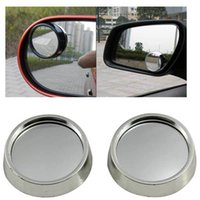 Wholesale Driver Side Wide Angle Round Convex Car Vehicle Mirror Blind Spot Auto RearView Essential Driver Safety
