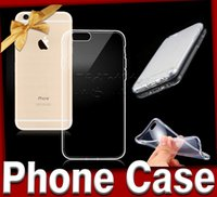 TPU soft packaging - For Galaxy S6 Iphone Case Ultra Thin mm Clear Soft S6 Edge Transparent TPU gel Crystal Clear Back Case Cover Skin With Retail Package