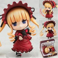 anime figures adult - New cm japanese anime figures Cute Nendoroid Shinku Rozen Maiden Pure Ruby doll Collectible Model adult toy
