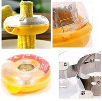 Wholesale Fresh Corn Stripper Sweet Corn Threshing Device for Kitchen Round Novelty