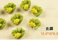Wholesale SAN X Rilakkuma Re ment Resin Mini Lettuce Handmade DIY Accessories Decoration Parts Phone Case Decoration