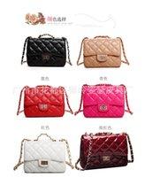 Totes Women Plain New Fashion Women's Shoulder Bag Quilting Chain Cross Korean Leather Crossbody Handbag Cheap Designer Black White Red Pink
