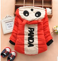Wholesale Helly Hansen Promotion In The Winter Of New Xhb Male And Female Panda Thickened Cotton Z1 Children s Clothing