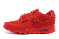 Cheap Mens WMNS Nike Air Max 90 Yeezy 2 SP Running Shoes 100% Original Quality Authentic Walking Trainers Cheap Max90 6 Colors Size US5.5-US12