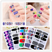 beautiful jewelry stickers - 3D Flash powder texture and ultra breathable Manicure jewelry super beautiful Manicure sticker Nail Sticker drop shipping