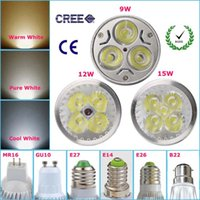 Wholesale Lowest Price LED Bulb MR16 E27 GU10 E14 E26 B22 Good Quality Lamp Spotlight Bulbs High Power w w w Led Lighting CE ROHS Led Bulbs