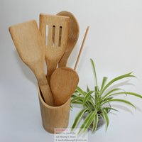 bamboo spatula - Natural Bamboo Spatula Scraper Utensil Kitchen Cooking Tool Furniture Craft New High Quality