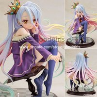 scale model figures - Anime NO GAME NO LIFE Shiro Scale Complete Figure Collectible Model Toy CM SGFG215