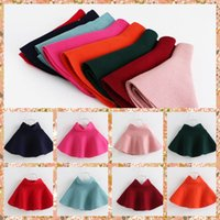Skirting - 2015 Baby Girls Knitting Ruffles Tutu Skirts Kid Girl Candy Color Colors Low Waist Fall Winter Cute Skirt Sweet Princess Casual Skirts